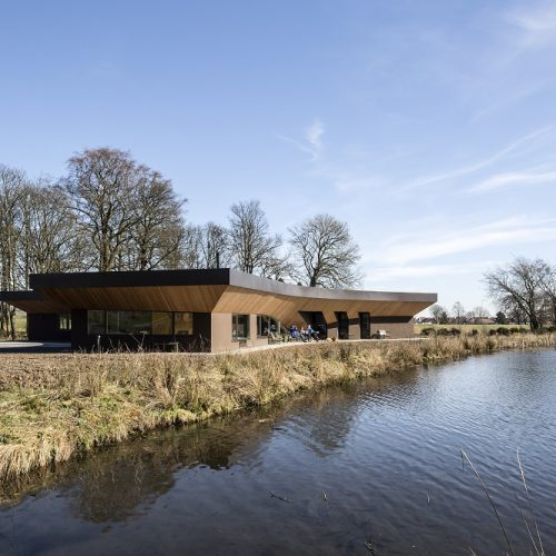 Maggie's Centre - Forth Valley next to Larbert Loch